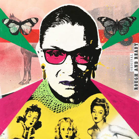 The Notorious RBG 01 Original Pop Art for Sale