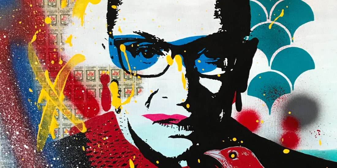 The Notorious RBG 03 Original Pop Art for Sale