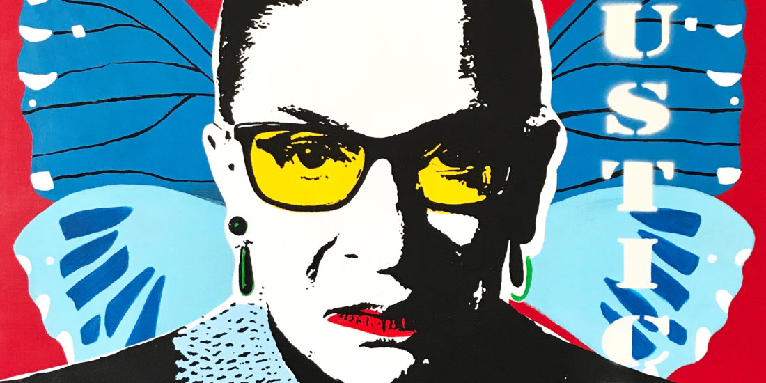 The Notorious RBG 04 Original Pop Art for Sale
