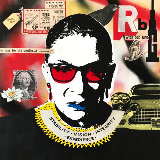 The Notorious RBG 06 Original Pop Art for Sale