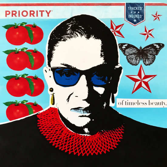 The Notorious RBG 07 Original Pop Art for Sale