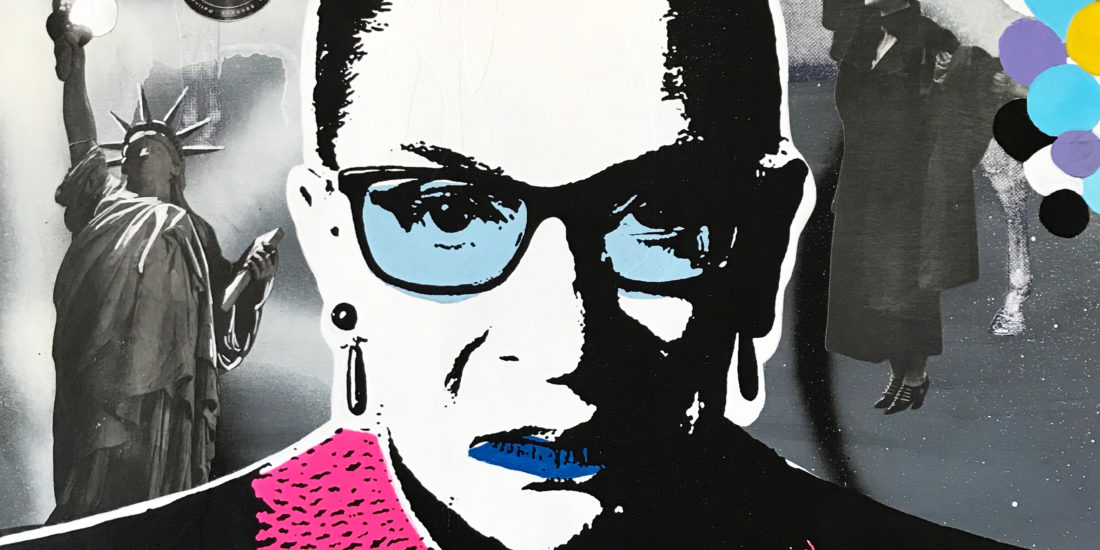 The Notorious RBG 08 Original Pop Art for Sale