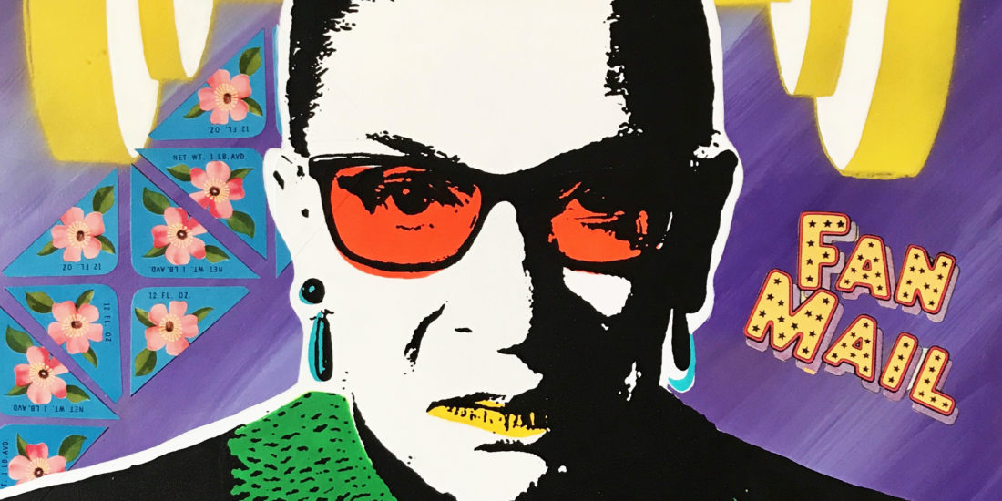 The Notorious RBG 09 Original Pop Art for Sale