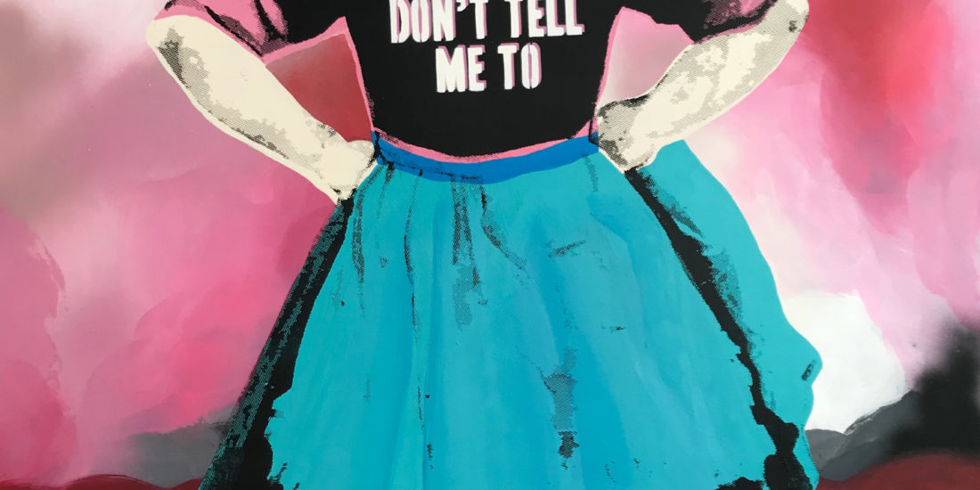 Don't Tell Me to Smile Rebecca Williams Art