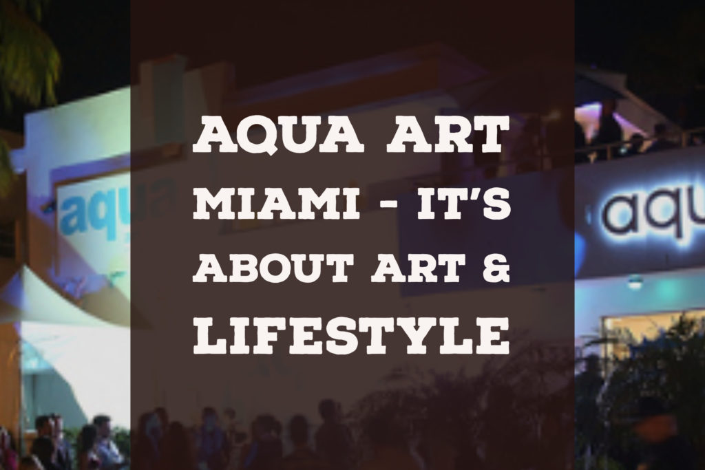 Aqua Art Miami art show art event